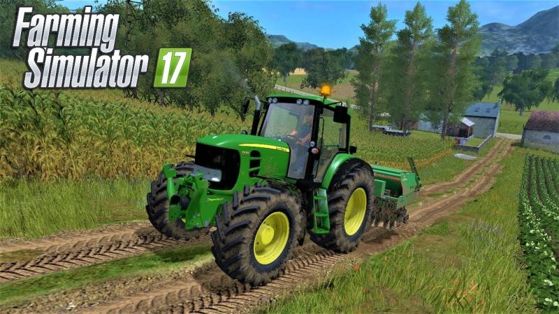 Farming Simulator 2017 Карта Балдейкино