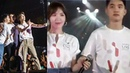 Doh Kyung Soo Held Wendy's Hand OMG This Is So Cute SMTOWN SANTIAGO DAY 2 ENDING STAGES today
