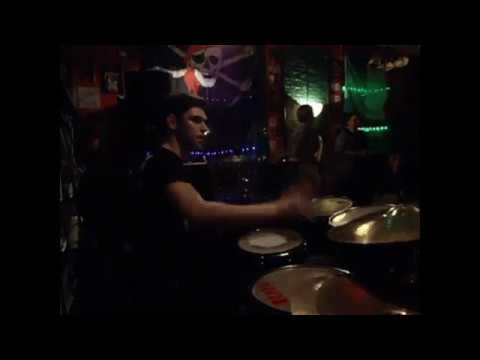 I Love Rock 'n' Roll drum cam Max Fomenko