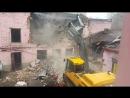 Демонтаж здания в Москве ООО Земподряд