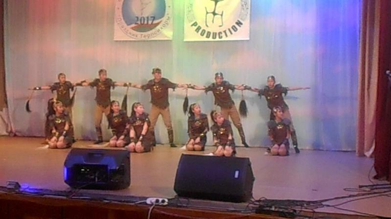 Село Хатасы танцевальный колектив