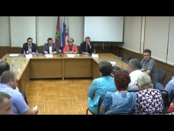 Мэр Краснодара встретился с жителями поселка Лорис и Музыкального района
