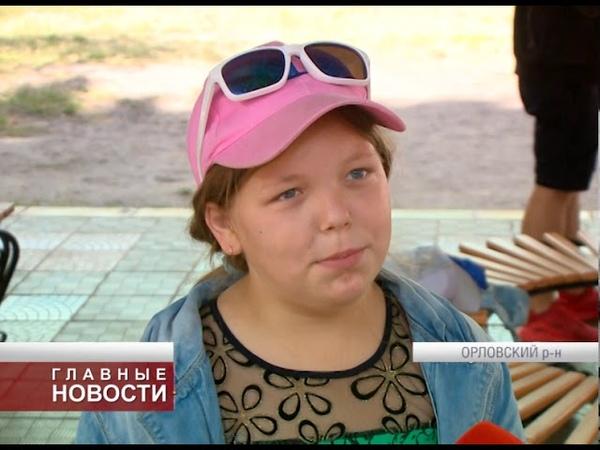 Лагерь Орловчанка организовал праздник к столетию комсомола