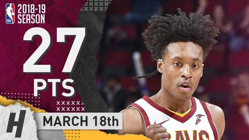 Collin Sexton Full Highlights Cavaliers vs Pistons 2019.03.18 - 27 Pts, 2 Reb!