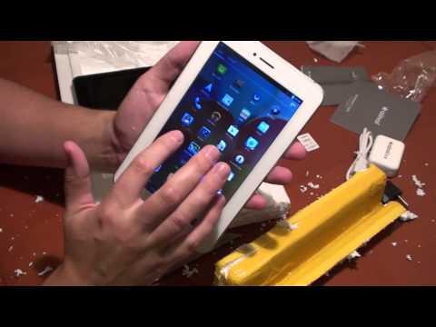 Китайский планшет Ainol NOVO 7 AX1 (распаковка)