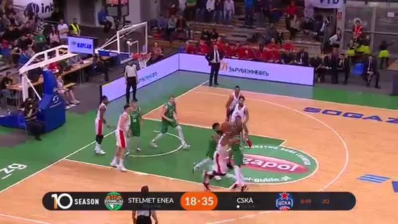 Stelmet Zielona Gora vs CSKA Highlights March 11, 2019