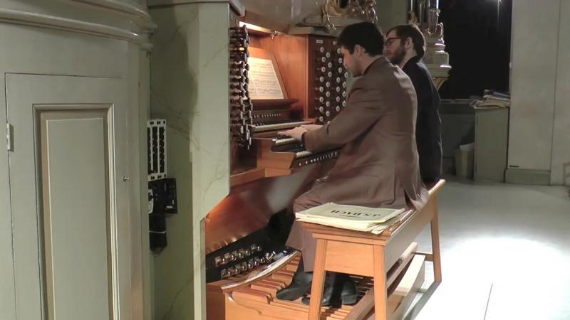 651 J. S. Bach - Chorale prelude Komm, heiliger Geist (Fantasia; Leipzig Chorales 1/18), BWV 651 - Ulf Norberg