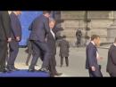 EU Leader Stumbles Several Times at NATO Event