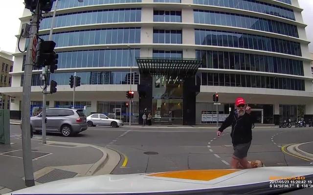 Pedestrian from Galveston