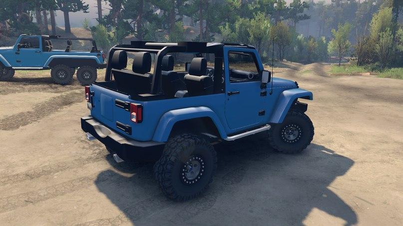 Jeep wrangler 1.0 для Spintires - Скриншот 3