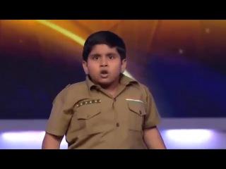 Маленький супер танцор на индийском шоу талантов