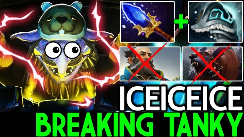 Iceiceice [Timbersaw] Monster Breaking Tanky Epic Game 7.19 Dota 2