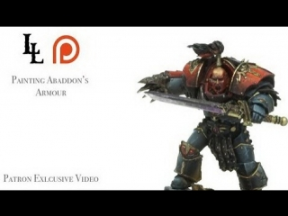 Painting Black - Abaddons armour Patreon exclusive 01