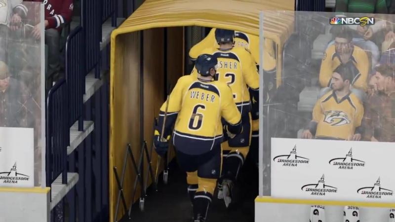 NHL 06 PS4. Regular Season 0015-2016. Colorado AVALANCHE VS Nashville PREDATORS. 0.28.2016. (NBCSN) !