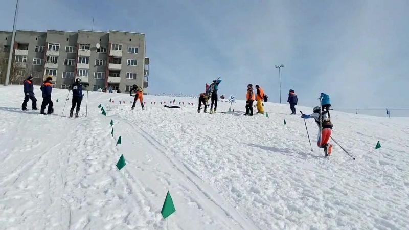 Спринт кубок России по ски-альпинизму, финал. 01.04.18