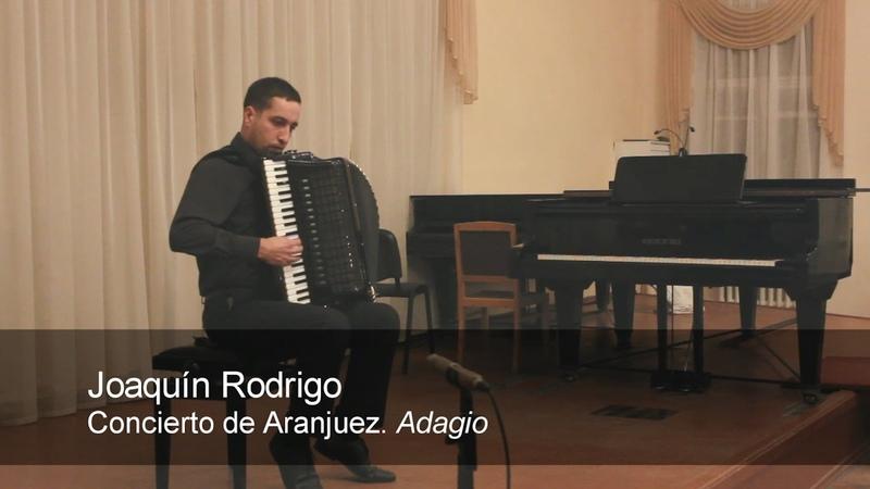 Rodrigo: Concierto de Aranjuez Adagio SPANISH ACCORDION music Dotsenko Accordeon Akkordeon Доценко