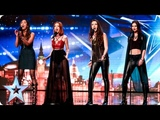 Zyrah Rose are on fire but why is Simon feeling cold Auditions Week 7 Britains Got Talent 2016