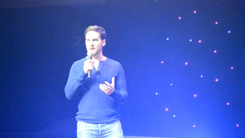 D23 Expo Colin O'Donoghue Singing It's Gonna Be Mine from Once Upon A Time