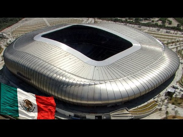 Mexico- Maravilla de Arquitectura Moderna, Estadio BBVA Bancomer en Monterrey, México