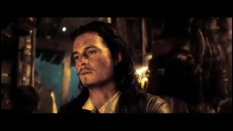 Реквизировано видеоклип по пейрингу Капитан Джек ВоробейУилл Тёрнер JackWil 加勒比海盗衍生CP船铁 Empire Of Angels.