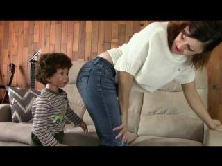 Smelly farts on a little boy