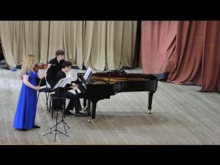 Вайнберг. Соната для скрипки и фортепиано.