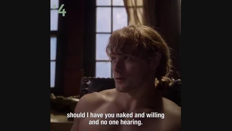 Jamie Fraser makes us swoon