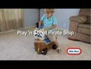 Каталка Пиратский корабль Little Tikes