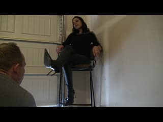 Goddess zephy - lick my boot soles (and the floor!!) femdom