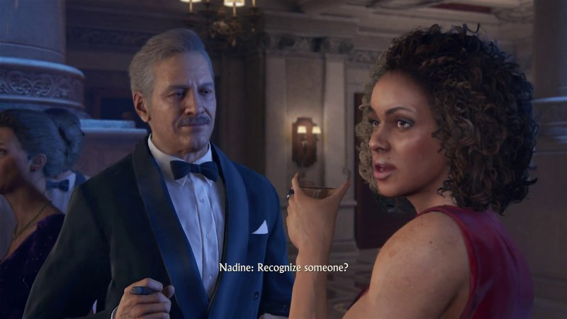 Uncharted 4: A Thief's End - Once A Thief: Nadine, Rafe Adler Threatens Sully at Auction Cutscene