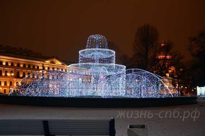 Александровский сад декабрь 2018