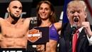 Бойцу UFC отказали в гражданстве РФ, чемпион UFC пообещал встретиться с Трампом