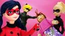 Uğur Böceği Barbieyi kurtardı, sırada Kara Kedi var. Uğur Böceği ile kurtarma oyunları.