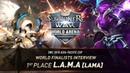 [EN SUB] World Finalists Interview_ LAMA | Summoners War | 서머너즈워