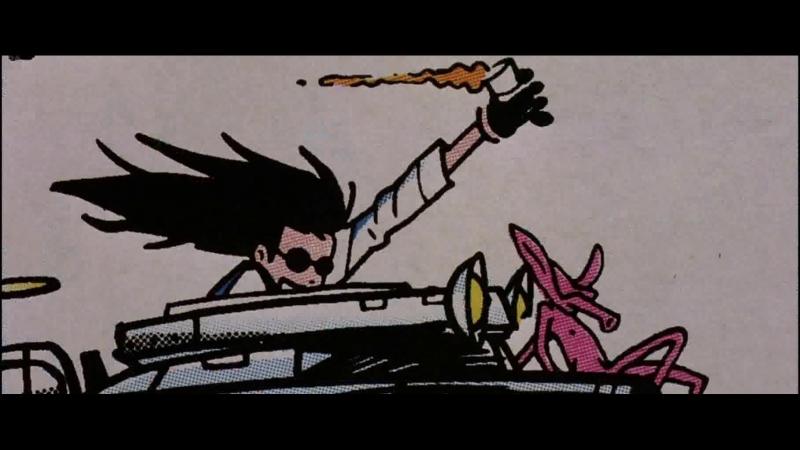 Девушка на Танке Танкистка Девушка-Танк Tank Girl. 1995. 1080p Перевод Сергей Визгунов. VHS.