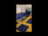 Тренировка в батутном центре Flipster