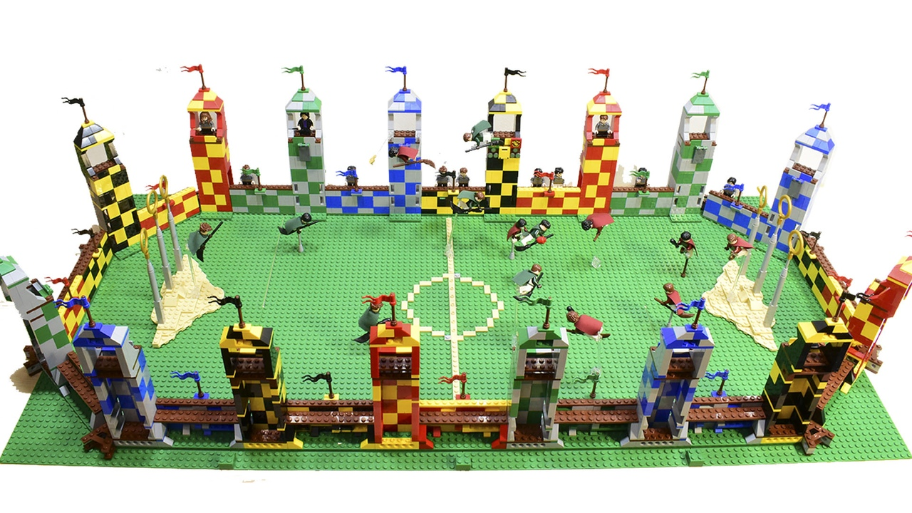 MOD Big Quidditch Stadium Harry Potter made from TEN ...