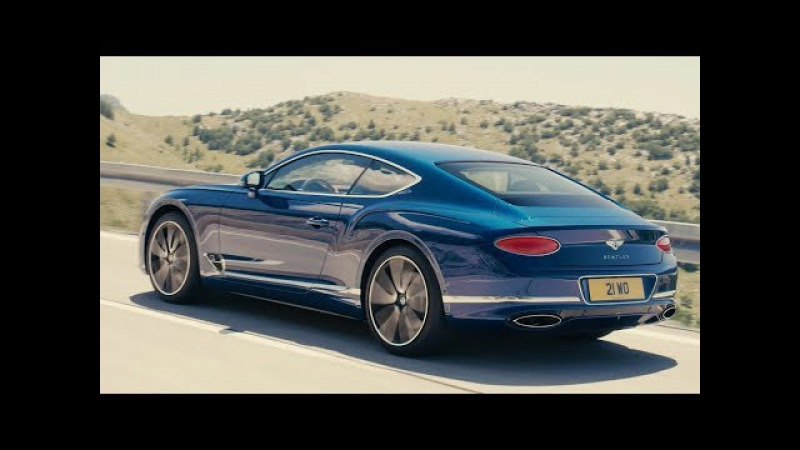 2018 Bentley Continental GT - interior Exterior and Drive