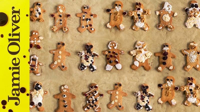 Christmas Gingerbread Men | Jools Oliver | Classic