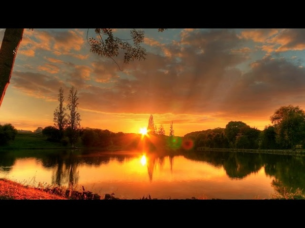 Summer Sunset Scenery Relaxing Music Stress Relief Nature Sound Spa Healing Meditation Music
