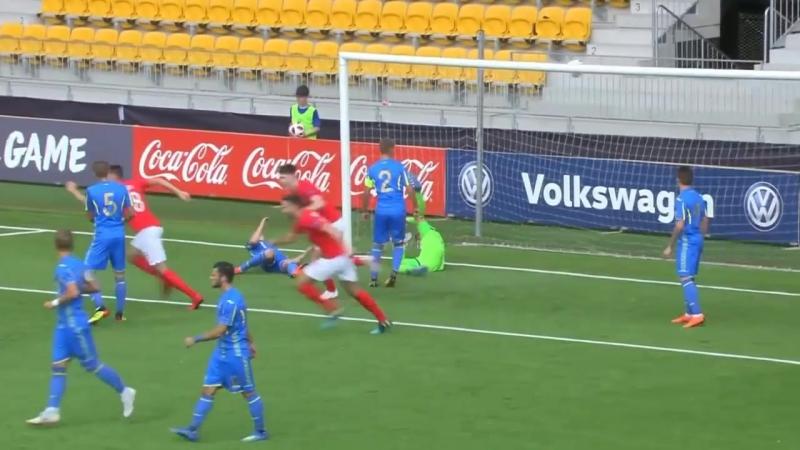 Євро-2018 U-19 | Україна 0:1 Англія | Гол: Тавернер 8 хв.