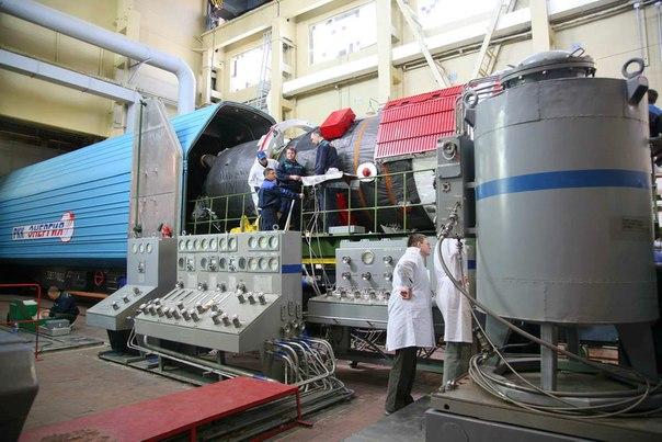 Заправка двигательной установки ТГК «Прогресс М-22М»