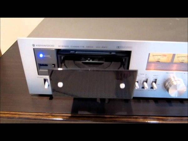 HTPC in vintage Kenwood cassette deck