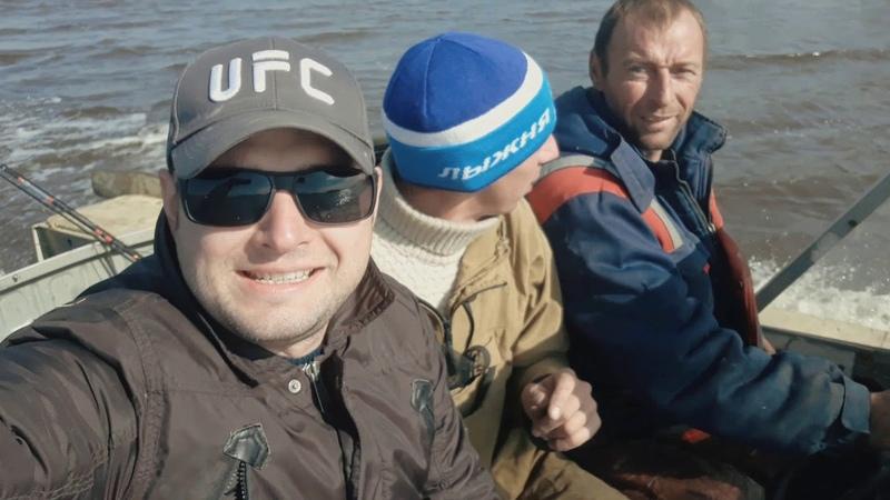 Рыбалка на реке Обь. Приобье.