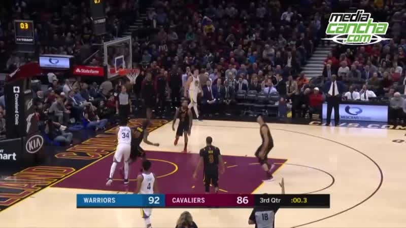Stephen Curry y Warriors son despiadados ante Cavaliers
