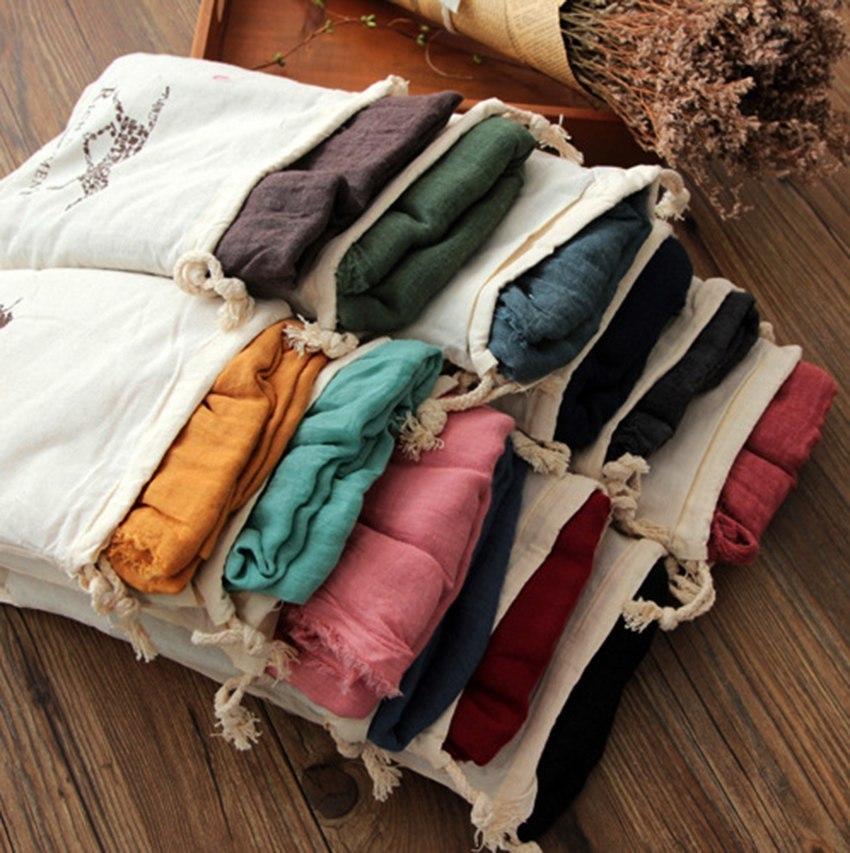 Яркие шарфы -