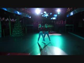 Павлюк Виктория, Штырова Елизавета. Студия танцев TRANCE-DANCE. Донецк.