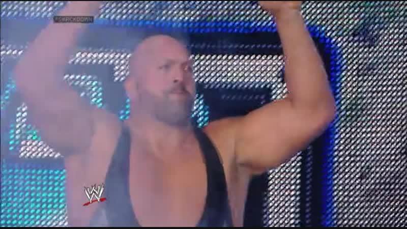 Randy Orton Vs Big Show - No DQ Match - SmackDown 06.06.2014