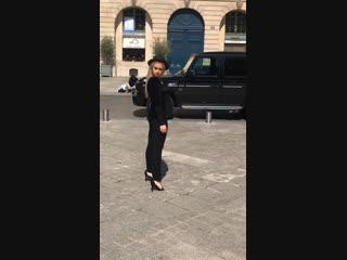 Paris 🇫🇷 Models Ksenia Sarina Test 19/20