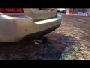 Выхлоп на Subaru Forester sg9